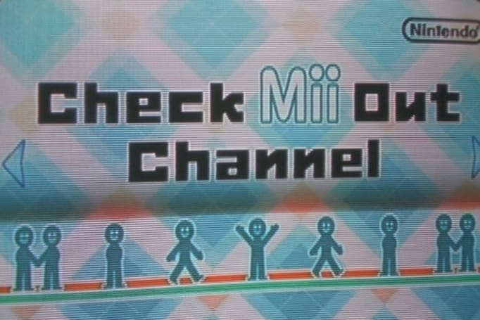 "Check out Wii's ""Check Mii Out"" Channel"