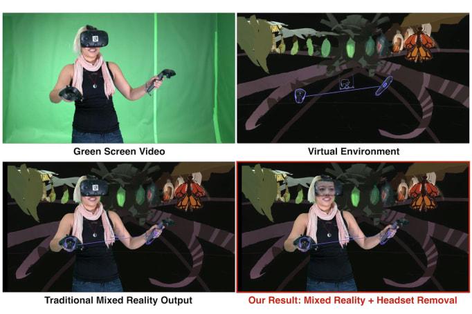 谷歌的混合现实技术可让 VR 设备的玩家「重新露面」