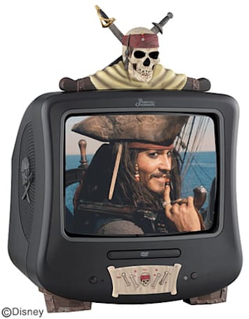 Runat busts out Pirates of the Caribbean TV, CD and DVD players