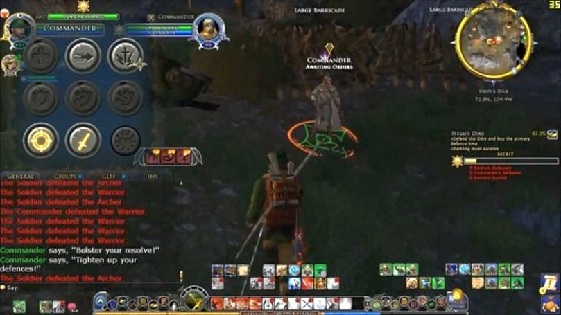 Players show off Lord of the Rings Online's epic battles in Helm's Deep beta