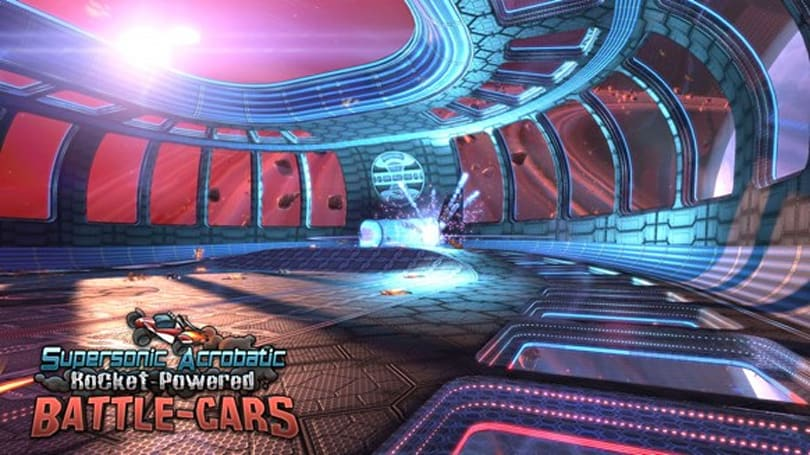 Supersonic Acrobatic Rocket-Powered Battle-Cars half-off on PSN
