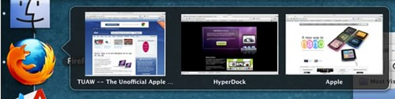 HyperDock puts some Win7 in your OS X Dock