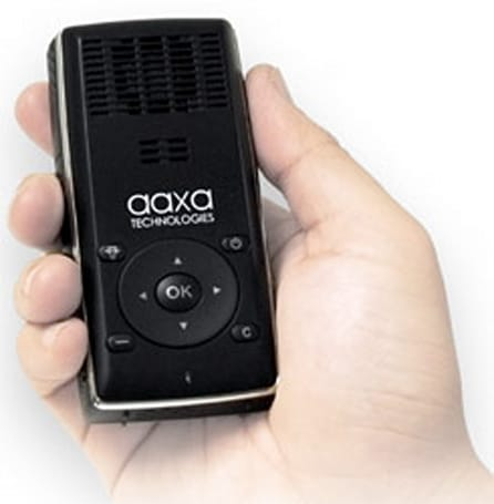 AAXA debuts L1 v2: world's smallest 20 lumen pico projector