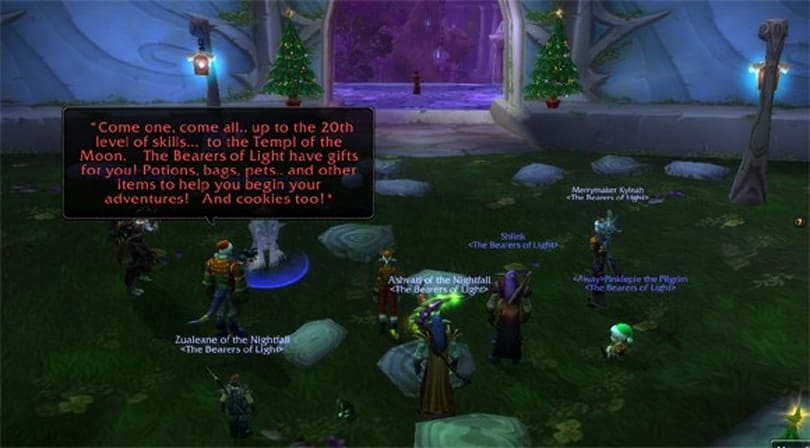 Guild champions volunteer spirit beyond the borders of Azeroth