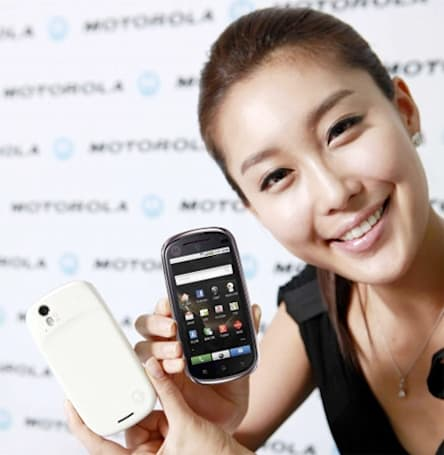 Motorola Glam brings Android 2.1, plenty of ritz to South Korea
