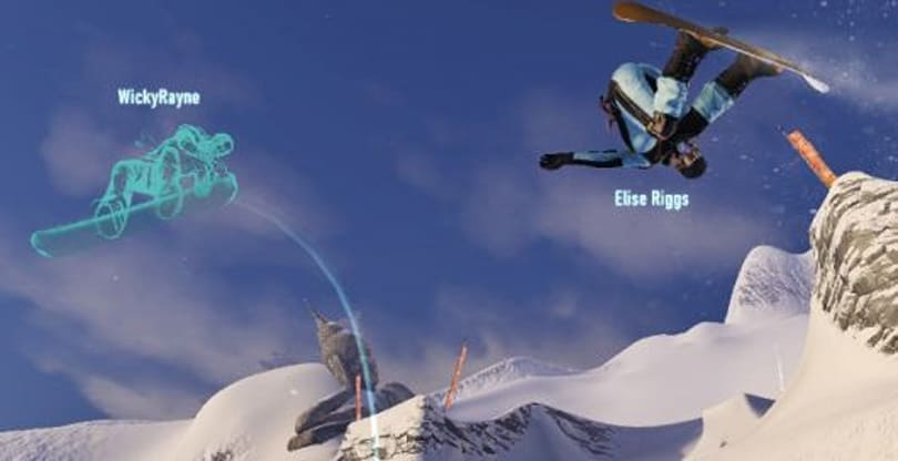 New SSX trailer shows off social features, Ridernet competition