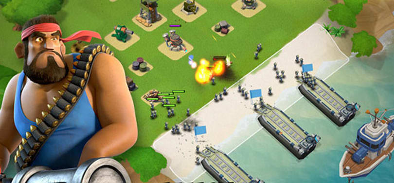 Clash of Clans follow-up Boom Beach hits iOS tomorrow