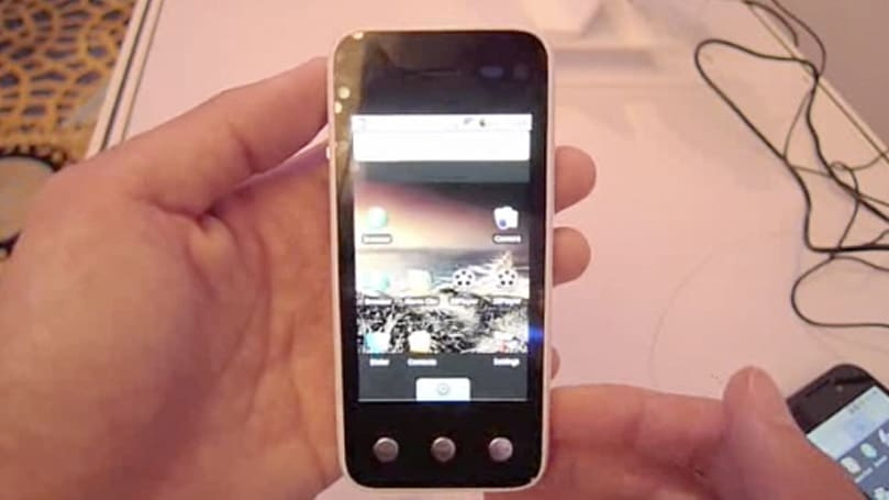 Zii Trinity smartphone concept handled on video