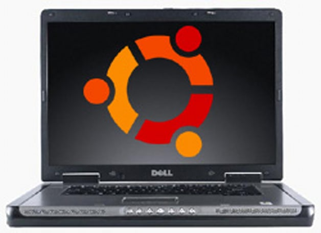 Michael Dell using Ubuntu on his personal machine
