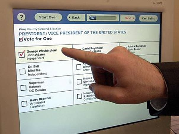 PSA: Super Duper Tuesday voting machines could be at risk