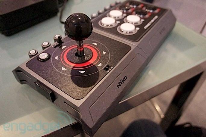 Nyko Free Fighter arcade joystick hands-on