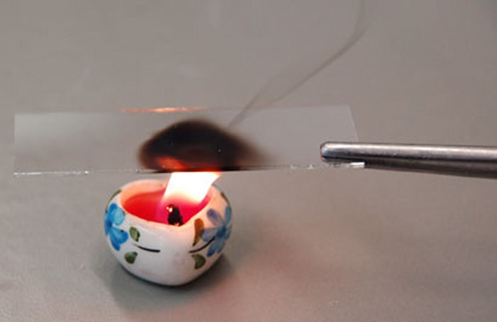 German researchers create smudge repellent coating from candle soot