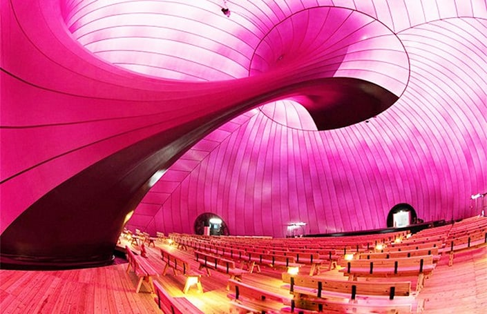 Inhabitat's Week in Green: inflatable concert hall, Xkuty One electric bike and an E. coli filter
