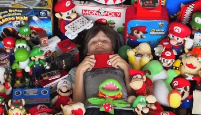 Massive Mario collection will make your inner 5-year-old jealous