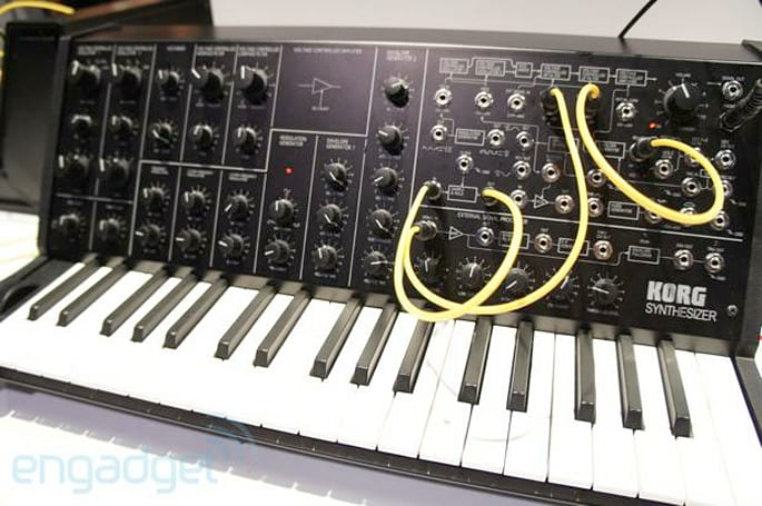 Korg announces MS-20 mini, we go hands and ears-on (video)