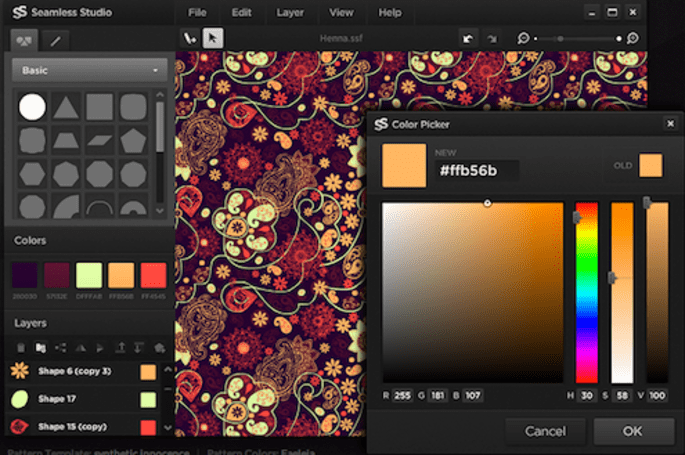 Seamless Studio a simple way to create complex patterns