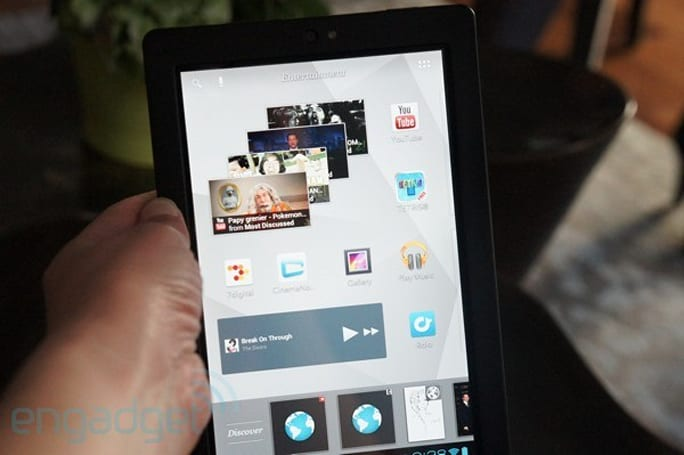Kobo Arc tablet hands-on (video)