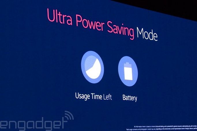 Samsung's Galaxy S5 has an 'ultra power saving' mode to maximize battery life