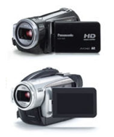 Panasonic's HDC-SX5 and HDC-SD5 3CCD AVCHD camcorders, again
