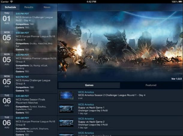 Blizzard WCS app acts as free guide to Starcraft 2 World Championships