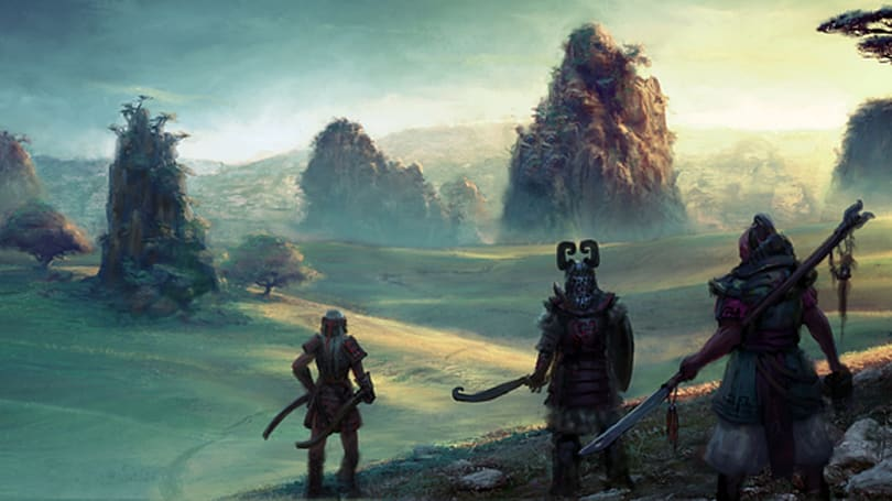 Funcom reveals more of Rise of the Godslayer's Chosain Province