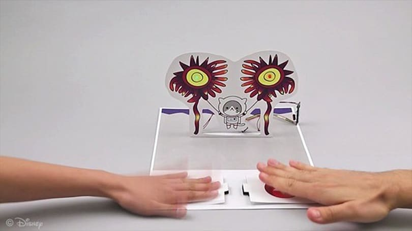 Disney Research makes paper cool again by turning it into a generator (video)