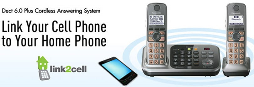 Panasonic KX-TG7740 and KX-TG7730 cordless phones feature Link2Cell, iPhone ringtone integration
