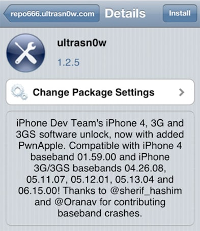 ultrasn0w bumped to version 1.2.5, now unlocking even more iOS 5.0.1 devices