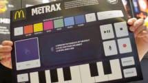 マクドナルド、音楽制作できるトレイシート『McTrax』配布、スマホ連携でサンプリングも使用可能。ただしオランダ国内のみ