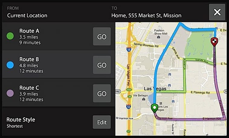 Telenav's Scout: personalized GPS for you and your car, too