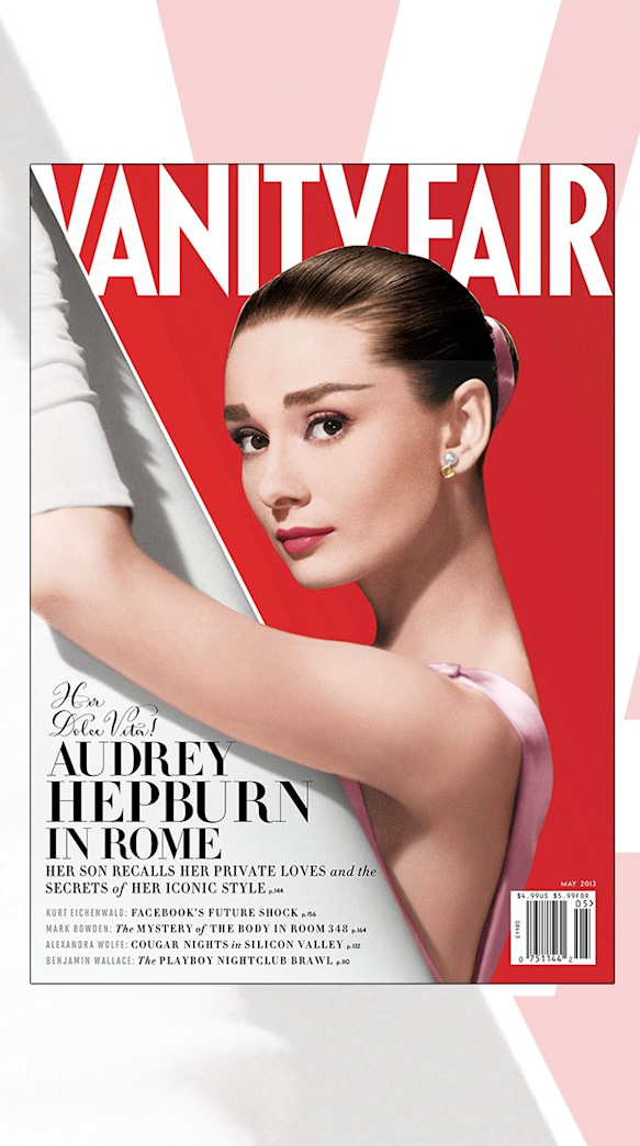 Audrey Hepburn Covers Vanity Fair's May Issue