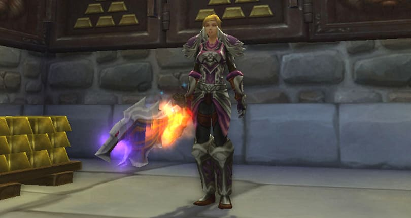 Returning to a paladin's vault