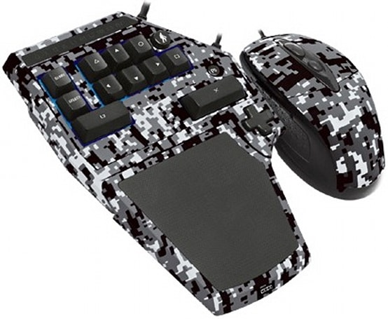 Hori Tactical Assault Commander 3 PS3 keyboard and mouse: for fans of butch peripherals