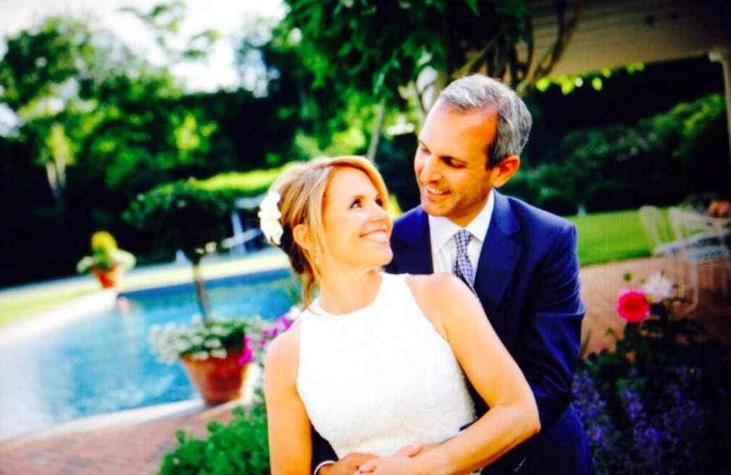 Katie Couric married: check out her wedding dress