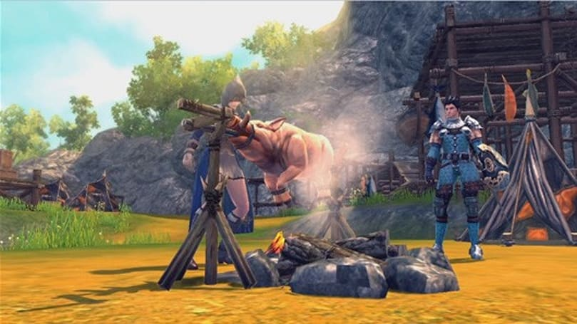 Third RaiderZ dev diary shows off mounts, cooking, and more