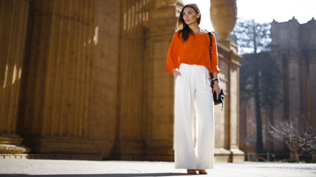 How to wear wide leg pants like your favorite celebs