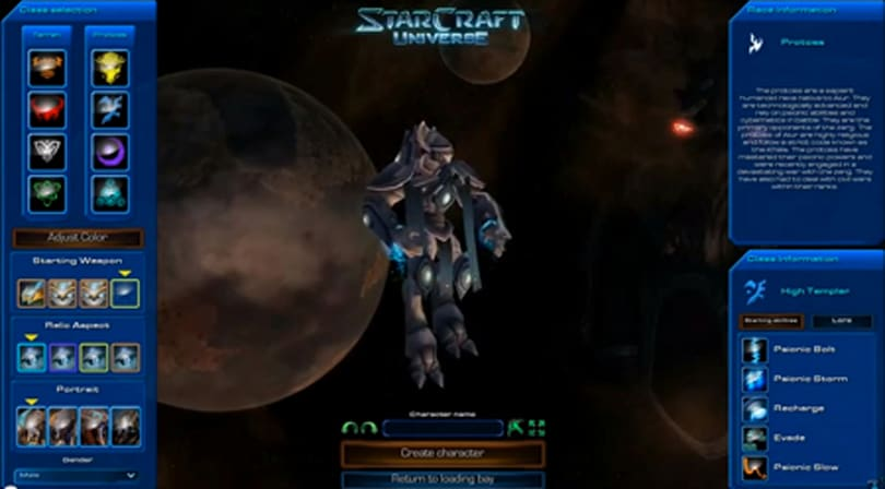 A fully realized Starcraft MMO is in the works, but it needs to be Kickstarted first