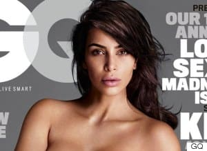 Kim Kardashian Does Another Naked Magazine Cover