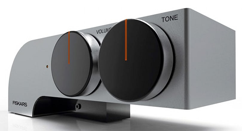 Fiskar's '88' headphone amplifier concept touts bombastic knobs, oodles of style