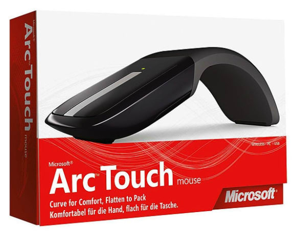 Microsoft's Arc Touch Mouse revealed?