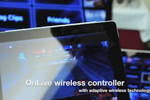 OnLive Adaptive Wireless Controller (Hands-on)