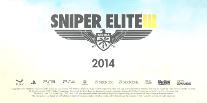 Sniper Elite 3 debut trailer has magic bullet, crashing culprits