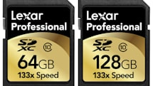 Lexar now shipping 128GB and 64GB SDXC cards from the future straight to your door