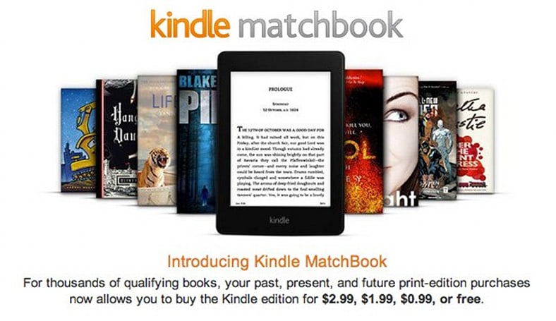 Amazon's Matchbook service now live, works with over 70,000 books for $3 or less