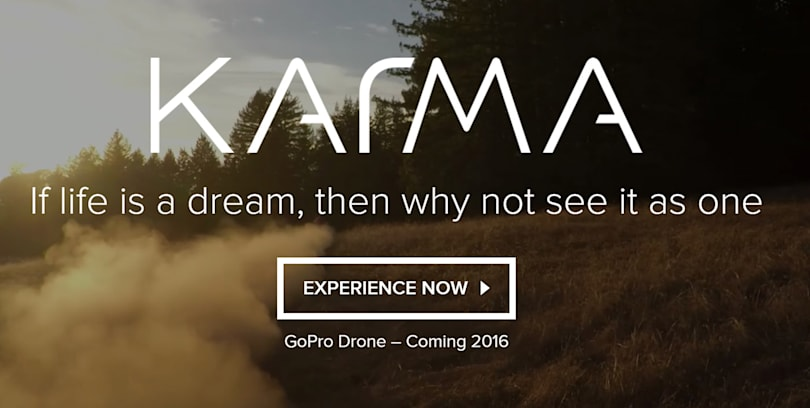 GoPro delays its Karma drone until this holiday