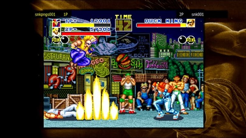 Neo Geo games coming to PSN with online play