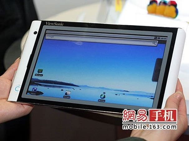 Viewsonic joins the Android Tablet fraternity with the VTablet 101