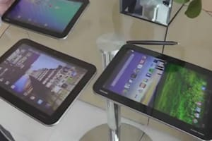 Hands-on With Toshiba's Excite Tablets