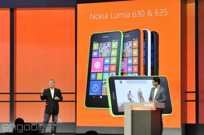 Nokia announces the budget Lumia 630 and 635 with Windows Phone 8.1