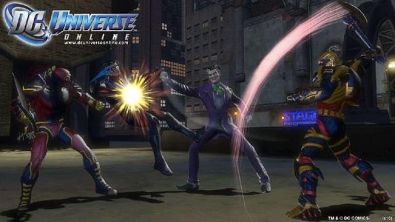 SDCC 2010: You can play as iconic characters: Massively's interview with DC Universe Online